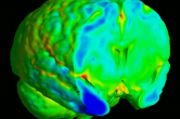 Computational anatomy to assess longitudinal trajectory of brain growth