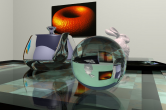 Real-time ray tracing - RTRT