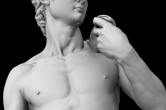 The David rendered and visualized using Manta and ViSUS