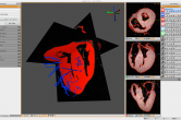 Cardiac data with sensor needles in Seg3D